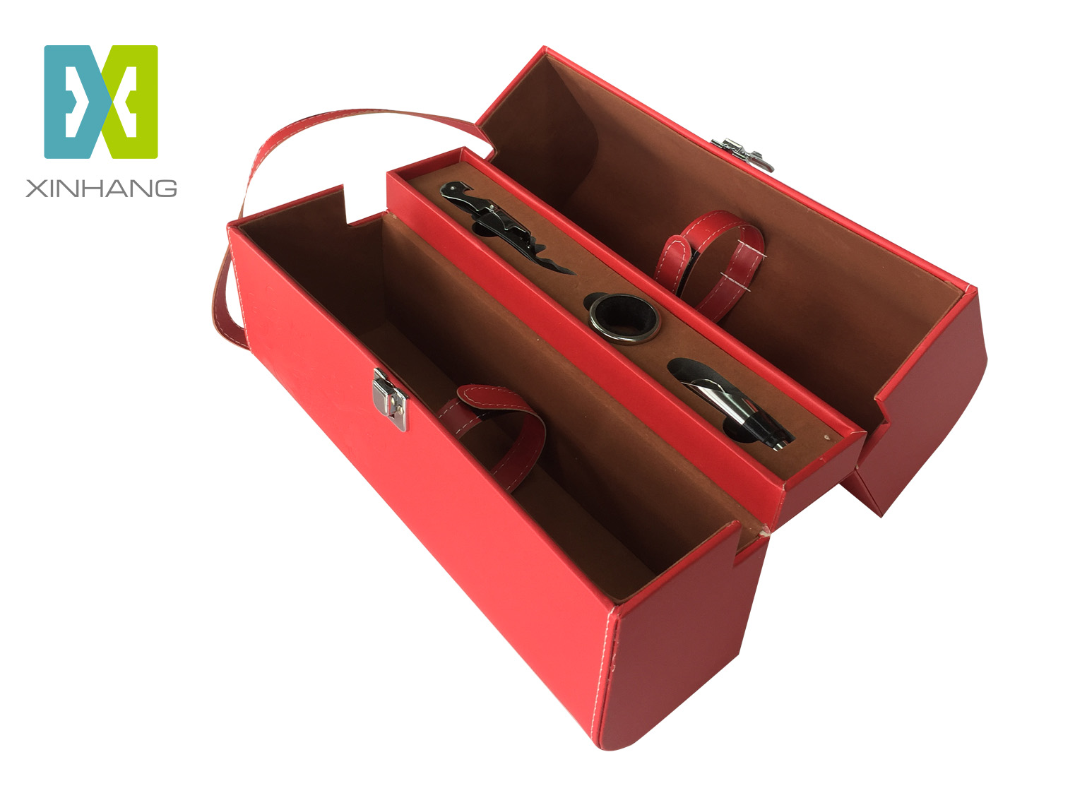 红酒包装皮盒